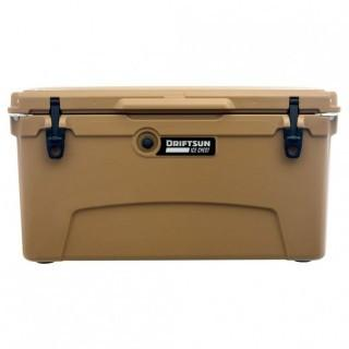 Driftsun 75-Quart Performance Ice Chest | Insulated Rotomolded Cooler - Tan (0027)