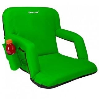 Driftsun Stadium Seat Reclining Bleacher Chair - Green (0033)
