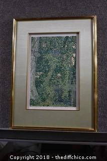 1972 Janet Turner Number 316/325 Art-Chico Creek Crossing