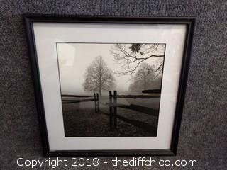 """Black and White Framed Print - 17"""" x 17"""""""