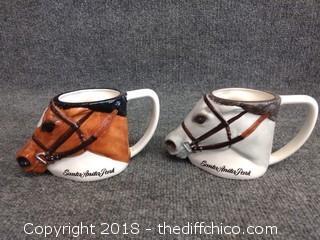 Santa Anita Park Mugs (2) - Horses