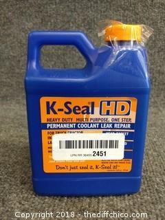 K-Seal HD Permanent Coolant Leak Repair - NEW