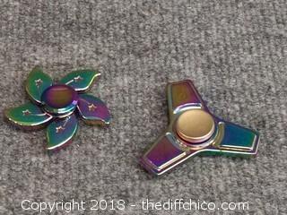 2 Heavy Metal Fidget Spinners