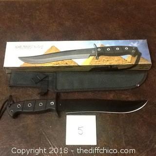 desert dog fixed blade knife