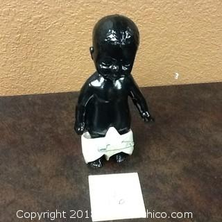 vintage Porcelain baby statue