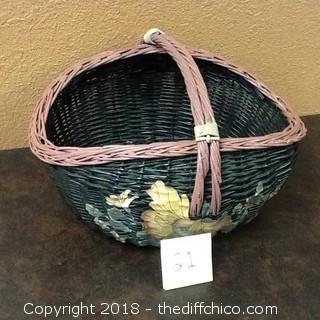 hand made decorative basket