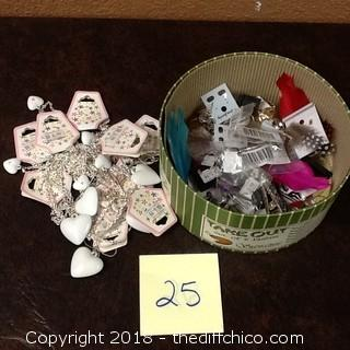 big lot of mixed jewelry