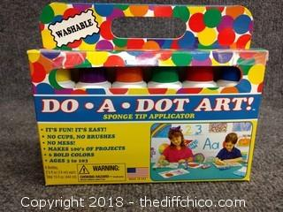 Do-A-Dot Art Sponge Tip Applicator - Washable
