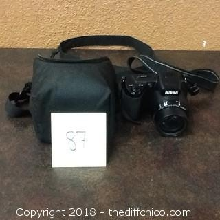 NIkon coolpix L105 digital camera