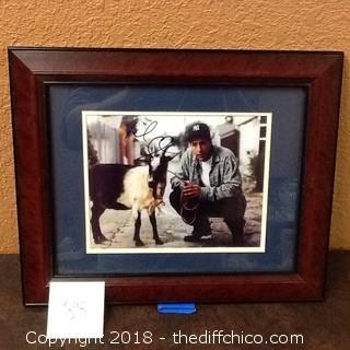 signed adam sandler goat picture