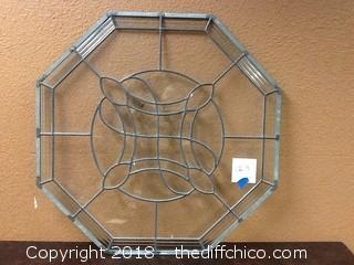 big decorative octagon shape window