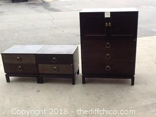 old dresser set