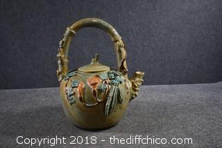 Large Oriental Tea Pot