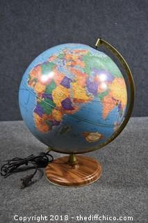 Working Globe