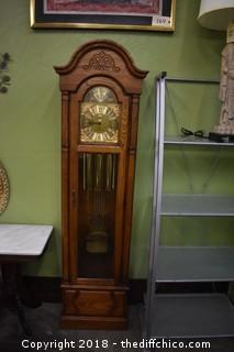 Howard Miller Clock w/Key-missing minute hand