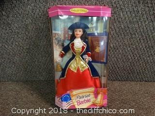 Patriot Barbie NIB