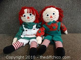 Raggedy Ann And Andy Doll