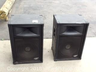 pyle pro speakers