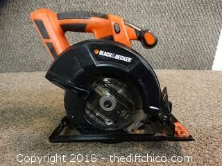 Black and Decker Saw (No Battery)