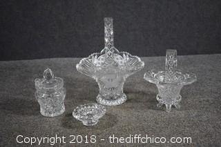4 Pieces of Crystal