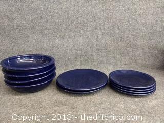 Cobalt Fiesta Dinnerware - 10 Piece