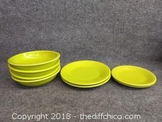 Lemongrass Fiesta Dinnerware - 8 Piece