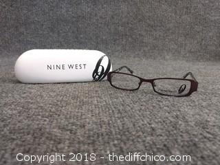 Nine West Glasses with Case