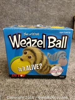 "Weazel Ball ""The Original"" - Working"