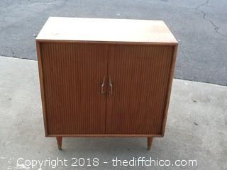 vintage lane cedar cabinet