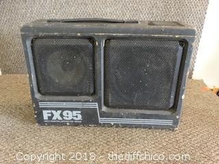 FX95 Digital Effects 100W Amp Works