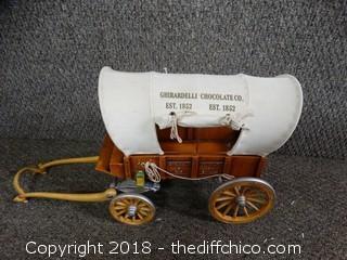 Ghirardelli Chocolate Company Wagon