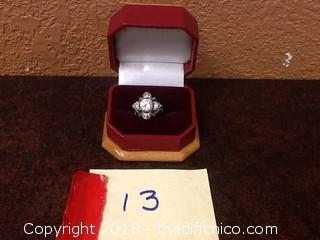nice .925 silver ring