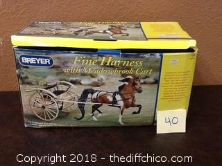 breyer horse harness and cart