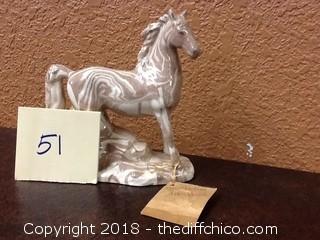 ceramic horse figure