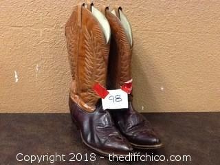 vintage Acme cowboy boots