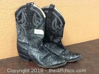 vintage Morgan & Miller cowboy boots