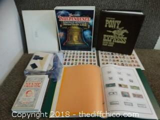 Stamp Collecting Lot