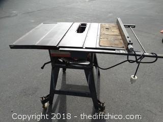 Craftsman Table Saw Works (220)