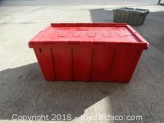 Flip Lid Crate