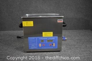 Working Kendal Ultrasonic Cleaner-Heats up