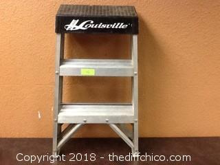 louisville 2 foot step ladder