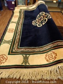 "Royal Dynasty 100% Pure Wool Pile Rug - 70 3/4"" x 47"""