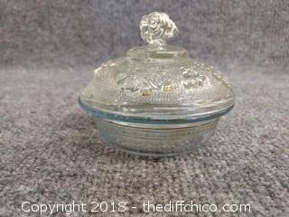 Fire King Candy Dish