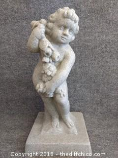 """EMSCO Group Cupid Statue - Made of Resin - 23.5"""" Tall"""