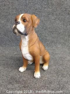 """Dog Statue - 10"""" Tall"""