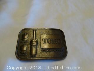 Toro Belt Buckle