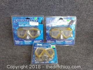 Swim Mask Lot