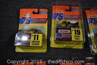 7 MatchBox Collectible Cars