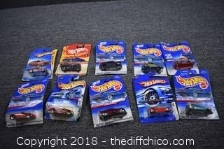 10 Hot Wheel Collectible Cars