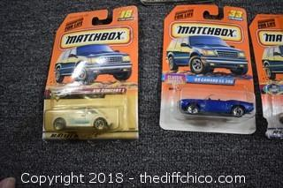 10 Matchbox Collectible Cars